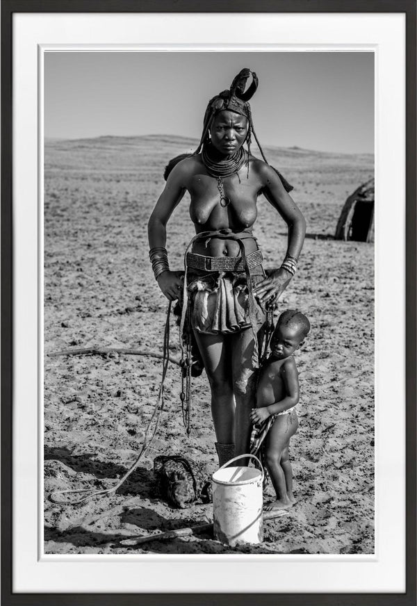 Himba tribe, Kunene, Namibia Prints Prints for Conservation