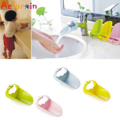 Adjustable Strap Children's Guide Sink Hand Accessories Child Kids Handwash Tools Infant Hand Washing Fruit Vegetable Device