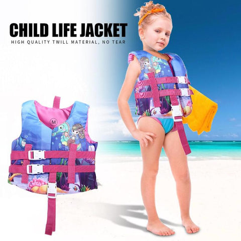 Baby Clothes Kids Water Sports Kids Life Vest Swimming Life Jacket Diving Safety Equipment Girl Clothes