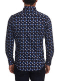 Garza Long Sleeve Shirt Navy