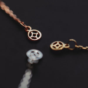 circle marq necklace