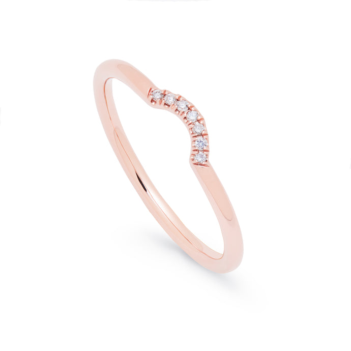 in stock - curve ring
