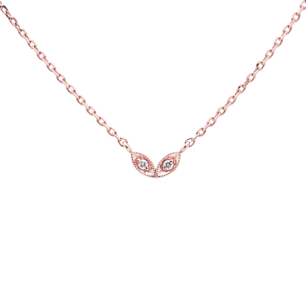 Ceejayeff double Marq choker diamond rose gold
