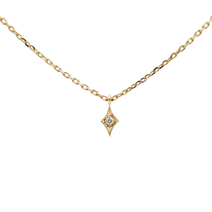 Ceejayeff long start diamond choker necklace in yellow gold