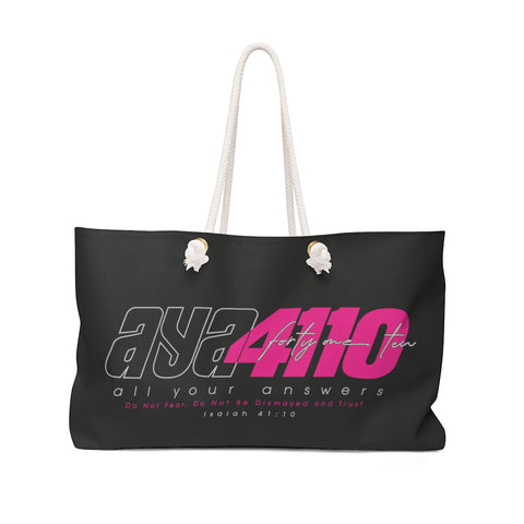 AYA 41TEN MAGENTA Weekender Bag