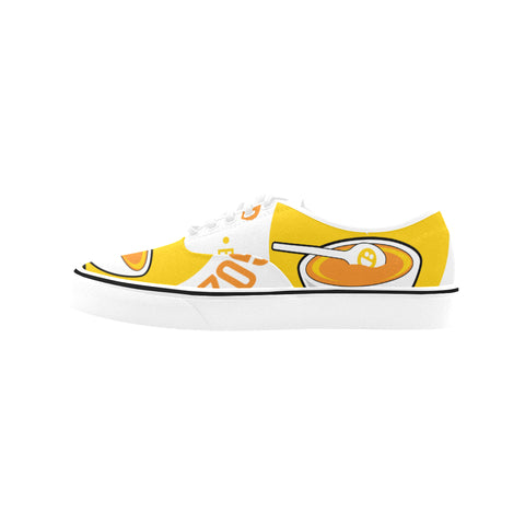 SOPAS DE GOZO Canvas Low Top Shoes (Model E001-4)