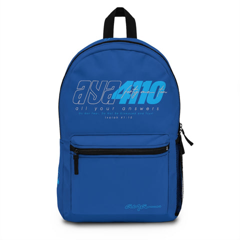 AYA 4110 BLUE Backpack (Made in USA)