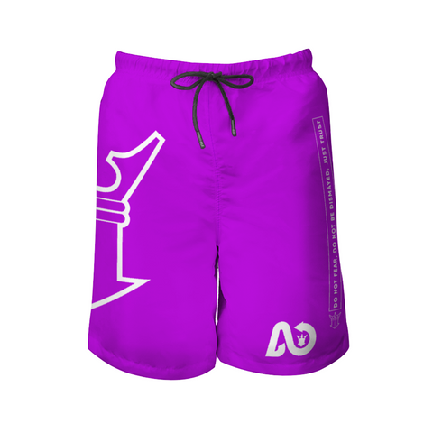 AYA wave Beach Shorts grape light