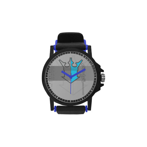 aya WBLUE Unisex Silicone Strap Plastic Watch (Model 316)