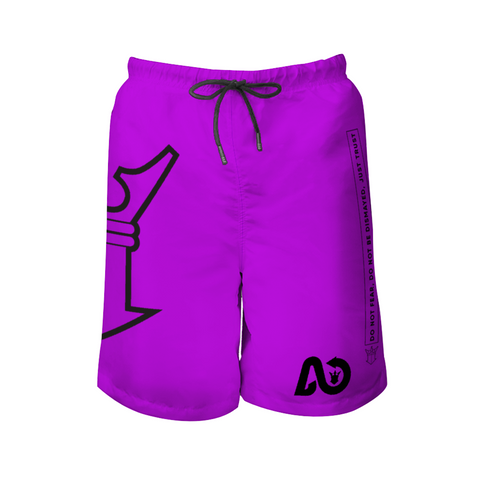 AYA wave Beach Shorts grape dark