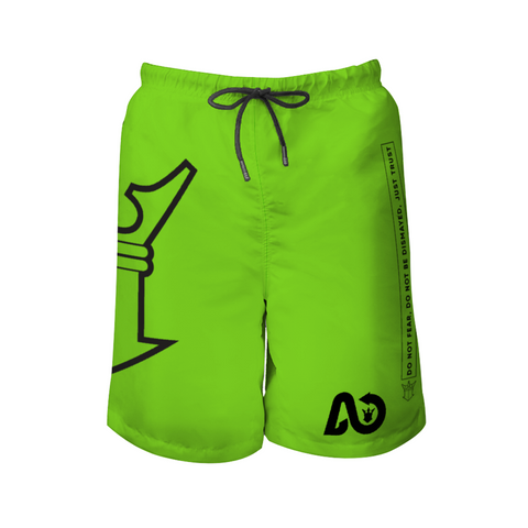 AYA wave Beach Shorts neon dark