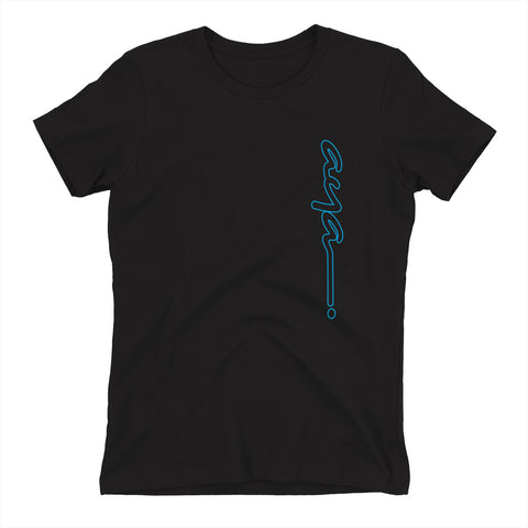 AYA LONG CYAN Women's t-shirt