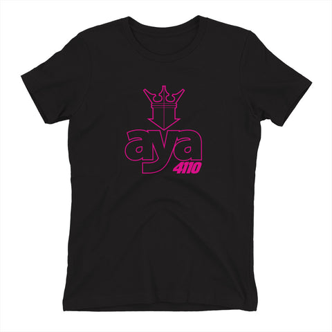 AYA CROWN MAGENTA Women's t-shirt