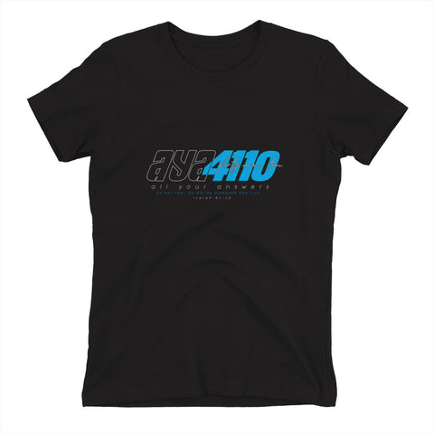 AYA 4110 CYAN Women's t-shirt