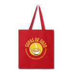 Sopas de Gozo Tote Bag - red