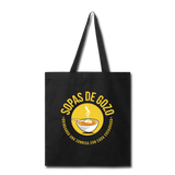 Sopas de Gozo Tote Bag - black