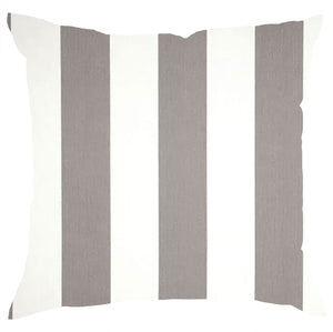 Vertical Stripe Grey and white