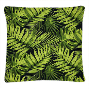 Tropical Fronds Ebony