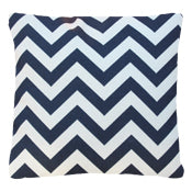 Load image into Gallery viewer, Zigzag Navy and White