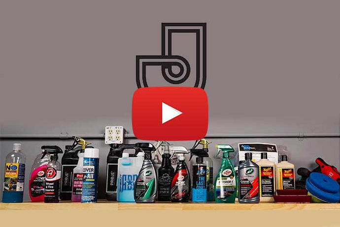 Jimbo Detailing: his favorite products for the exterior of a vehicle