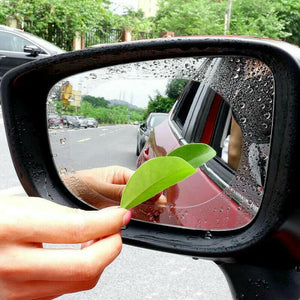 Anti fog film for car mirror (Set of 2)