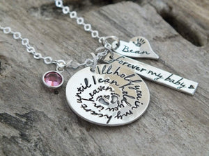 Miscarriage necklaces, Miscarriage Sterling Silver Jewelry | TheSilverWing