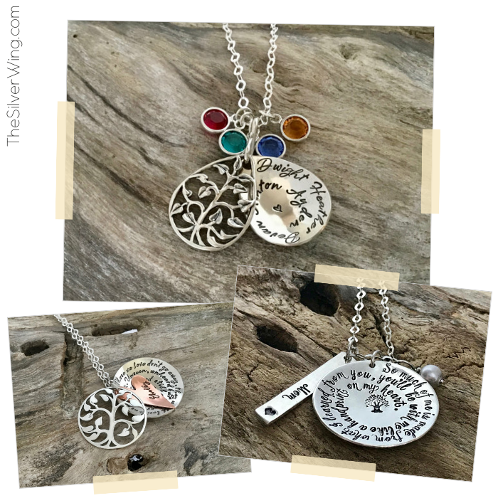 Personalized Sterling Silver Jewelry | thesilverwing