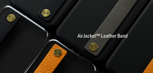 Air Jacket™ Leather Band