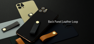 Back Panel Leather Loop