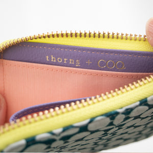 thorns + COQ SMALL WALLET(ハッカ/GRN)