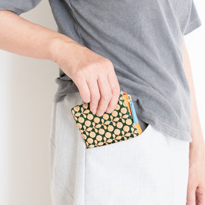 thorns + COQ SMALL WALLET(ハッカ/YEL)