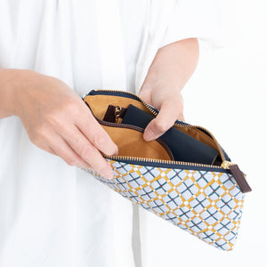 thorns + COQ ORGANIZER WALLET (パン/BLU)