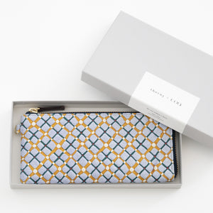 thorns + COQ LONG WALLET (パン/BLU)