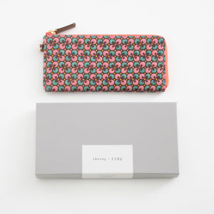 thorns + COQ LONG WALLET (クローバー/PNK)