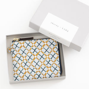 thorns + COQ SMALL WALLET (パン/BLU)