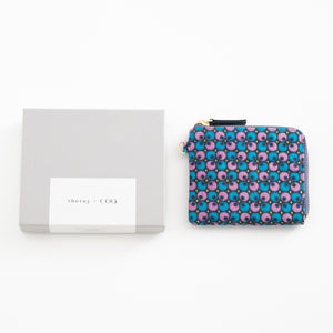 thorns + COQ SMALL WALLET(クローバー/BLU)