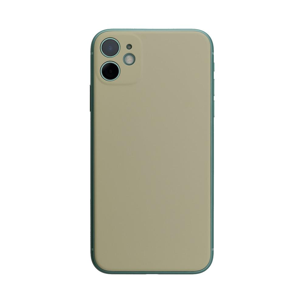 Back Panel Wet Rubber -Gray Khaki-