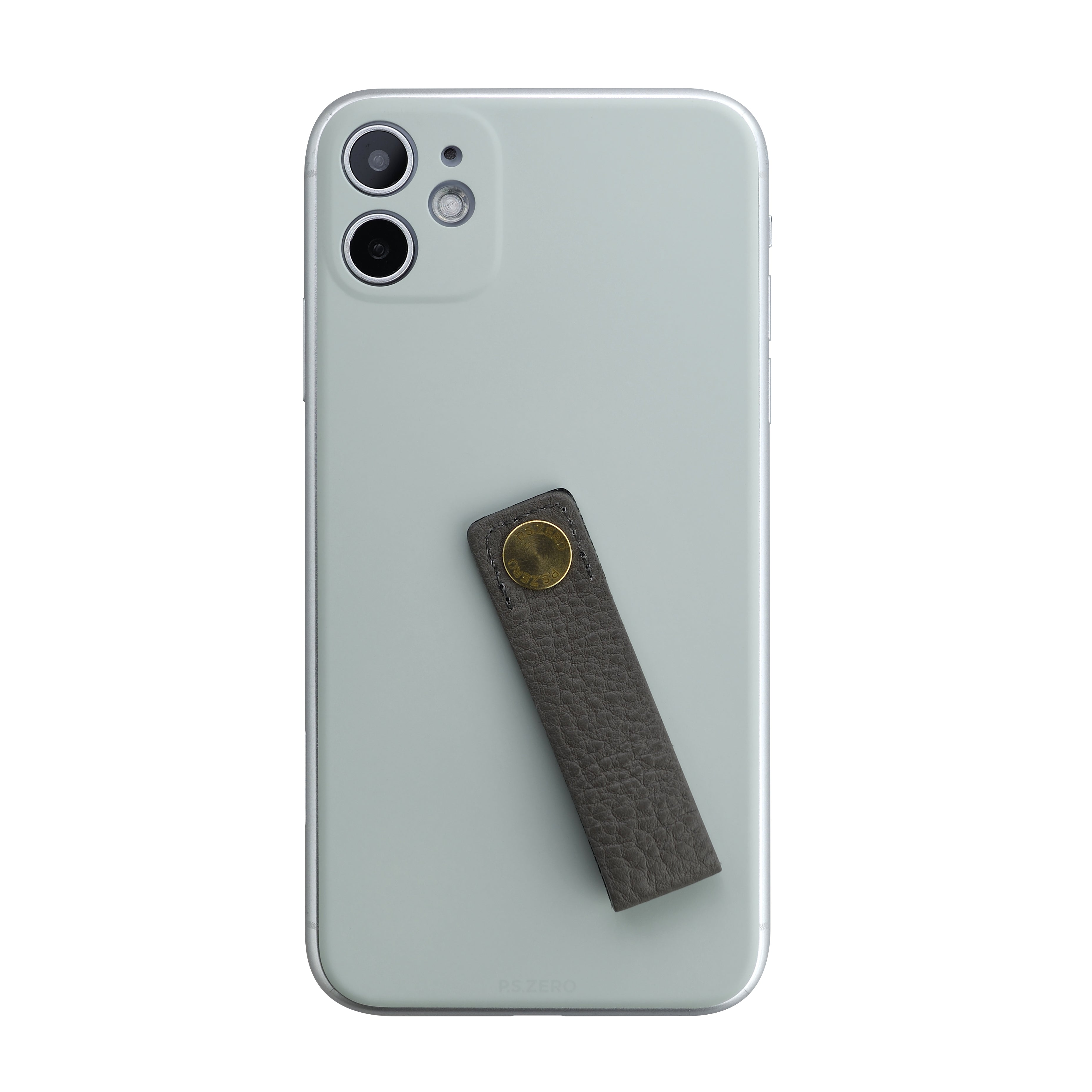Back Panel (Cool Gray) Leather Loop