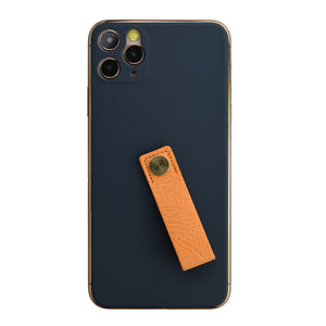 Back Panel (Navy) Leather Loop
