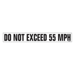 "Equipment Rental Decal 1.5"" X 11.5"" [NWD-33] 25 count"