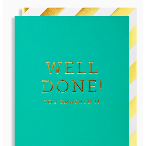 Postco Card/Well Done! You smashed it