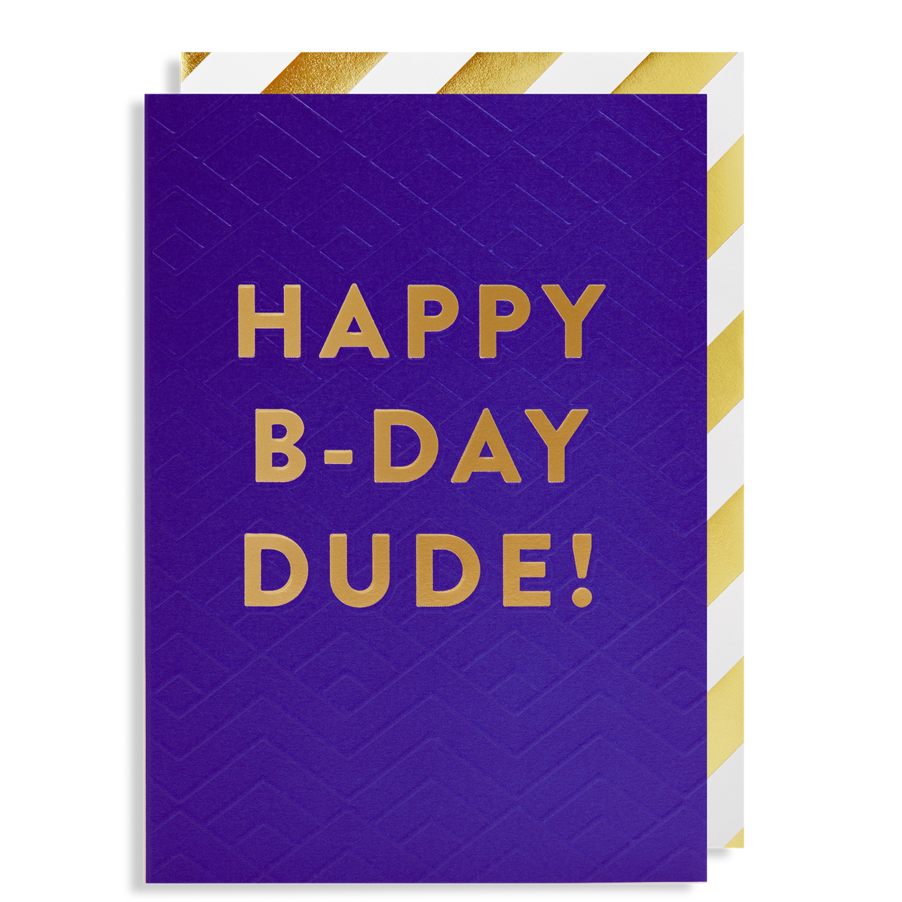 Postco card/Happy B-Day DUDE