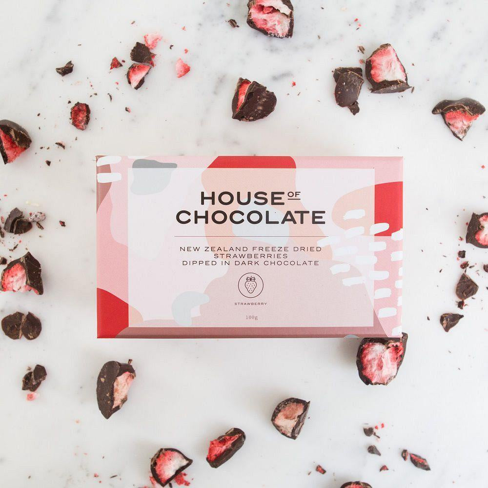 House of Chocolate Freeze Dried Strawberries