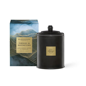 Glasshouse Fireside in Queenstown Candle