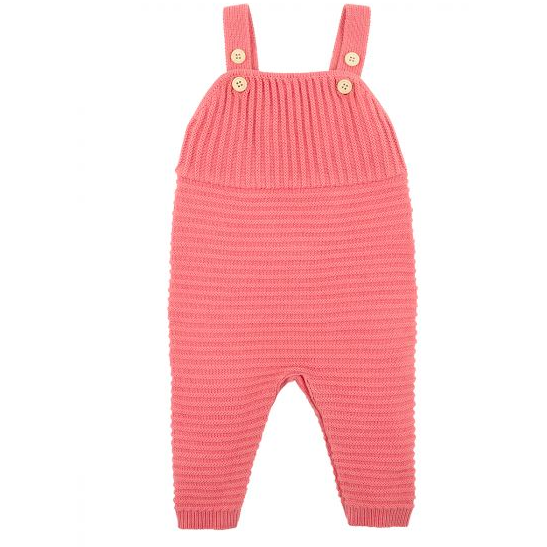Fox & Finch Knitted Overall-Rose