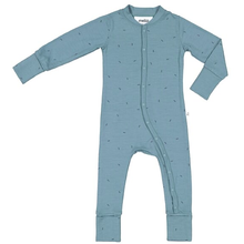Load image into Gallery viewer, Mello Merino Sleepsuit Sea green