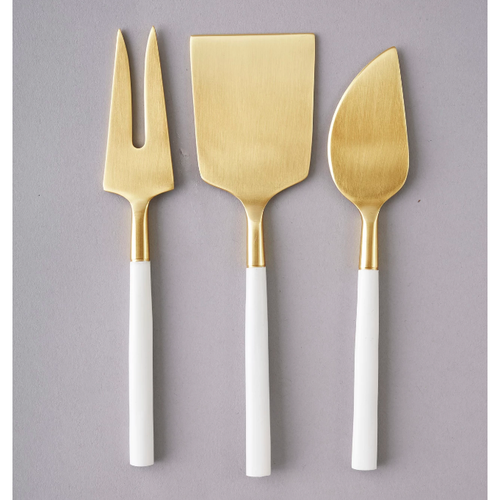 Nel Lusso Bianco Cheese Knife Set 3