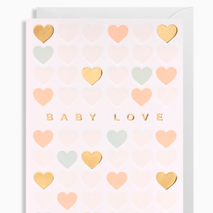 Postco Card/Baby Love