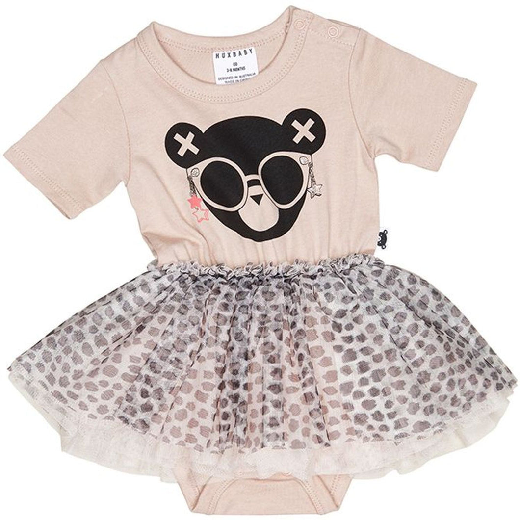 Huxbaby Star Ballet Onsie Dress