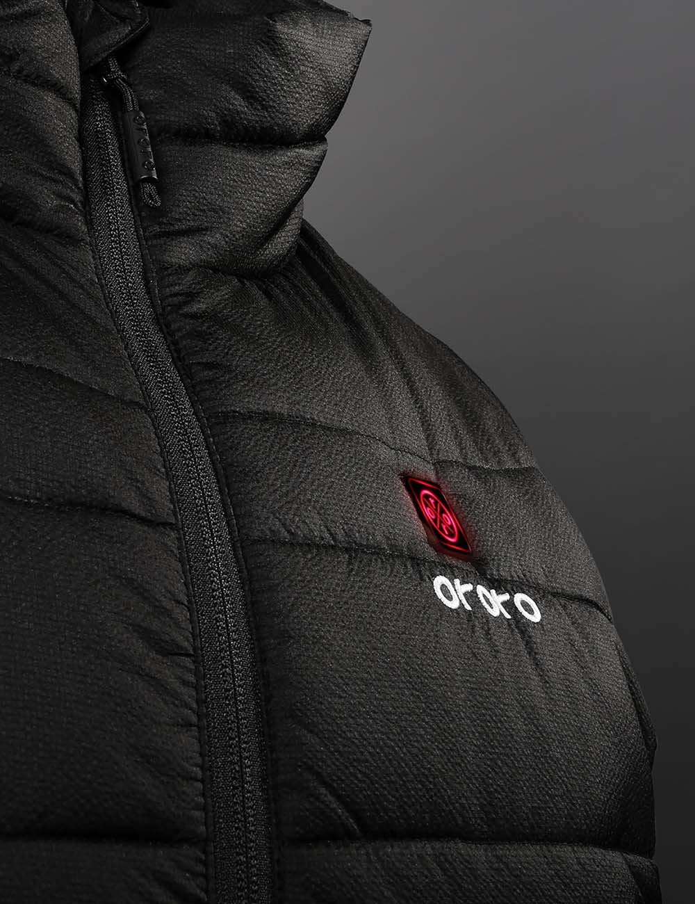 ORORO Men Heated Padded Vest